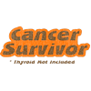 Cancer Survivor - Thyroid Not Included